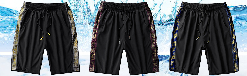 mens dry fit wicking nylon stretch stealth shorts for men ripstop fishing skate travel shorts