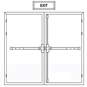 exit door device