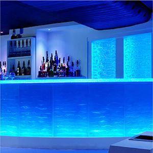 Cafes and Bars using led strip light