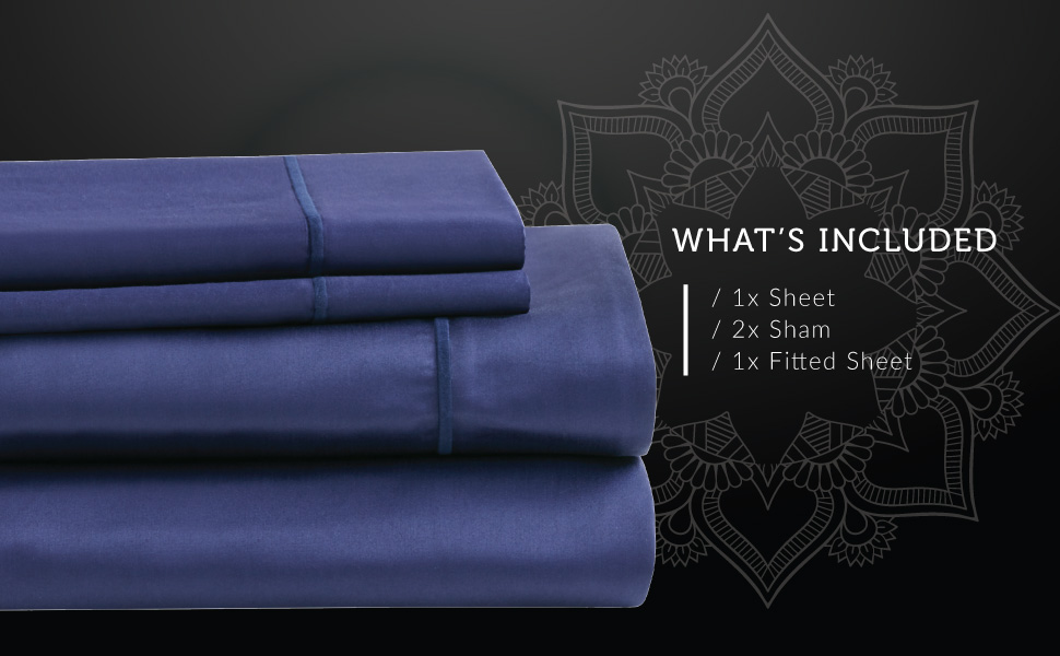 Hyde Lane 1000tc sheet set