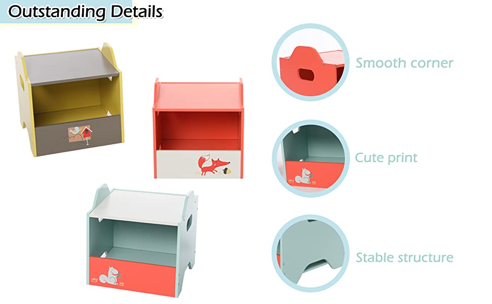 Kid Toy Organizer and Storage for 1-5 Years Old