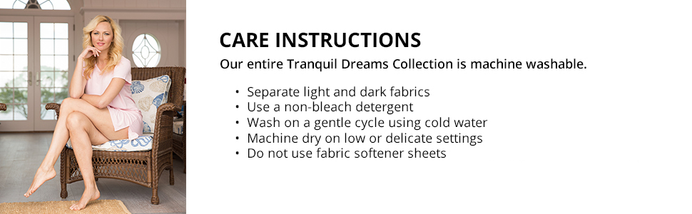 fishers finery bamboo viscose care instructions