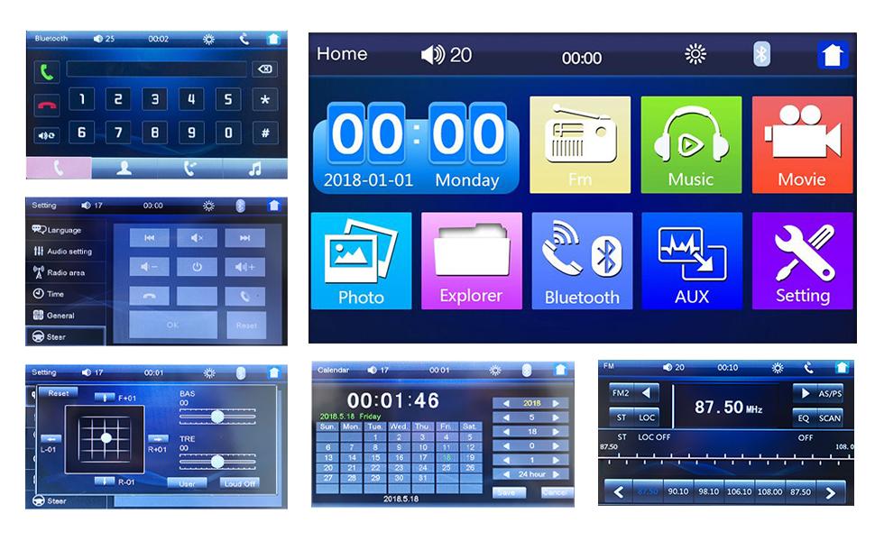 UI Interface Display