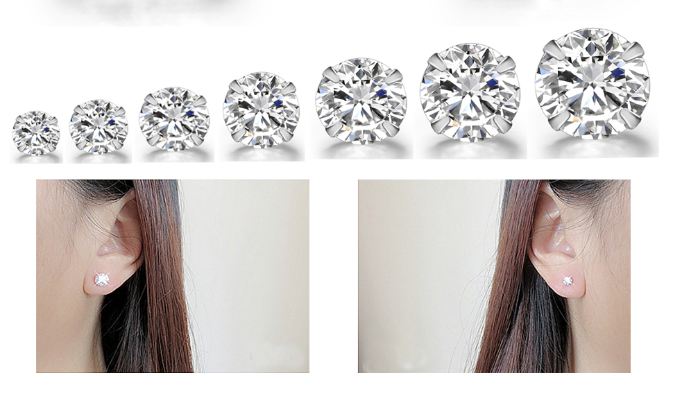 Metal CZ Monachella earrings for Half Silver Hole Rhodium 16 mm with Onyx Black Briolette Smooth Medium Hole 20 x 10 mm