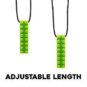 adjustable sensory necklace