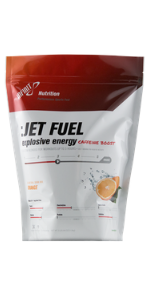 jet fuel energy electrolytes high intensity sports drink carbohydrates running caffeine boost