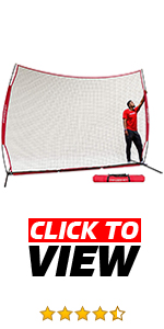 PowerNet 12x9 barrier net stops balls. Protect your porperty and players. Portable and durable.
