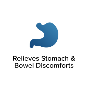 Relieves Stomach & Bowel Discomforts