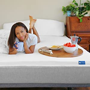 organic latex natural mattress topper bed pad memory foam healthy allergy gols gots certified queen