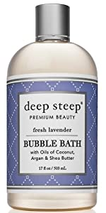 fresh lavender deep steep bubble bath
