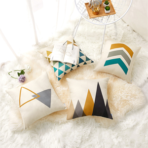 gray pillow covers b