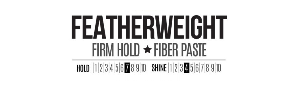 featherweight pomade