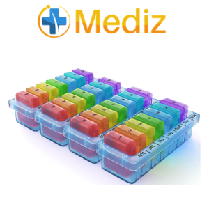 monthly pill organizer mediz