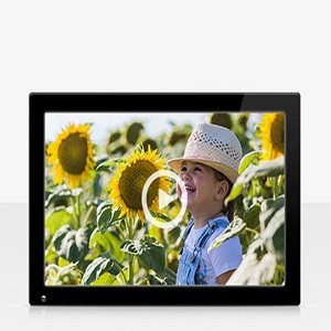 NIX Advance Marco Digital Fotos y Videos 8 Pulgadas HD. Pantalla IPS (16:10). Calendario, Reloj. Auto On/Off. Rotación automática