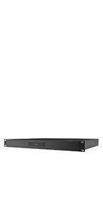 """AC Infinity Rack Mount Drawer with Aluminum Faceplate for 19"""" Equipment Server AV DJ Cabinets Racks"""