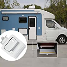 travel trailer door lock