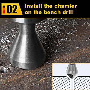 Countersink Chamfer Tool