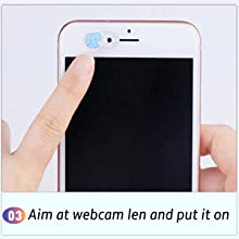 Webcam Cover Slide Cute Universal Ultra-Thin Camera Privacy Cover for Laptop Phone iPad Tablet