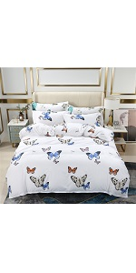YOU SA Butterfly Print Bed in a Bag