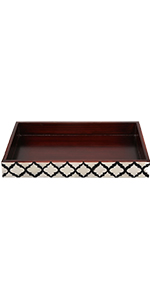 HANDMADE MOORISH MOROCCAN TRAY – our handcrafted trays are a stunning