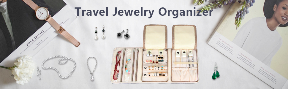 jewelry roll travel case jewelry travel case jewelry travel organizer roll up Travel Earings Holder