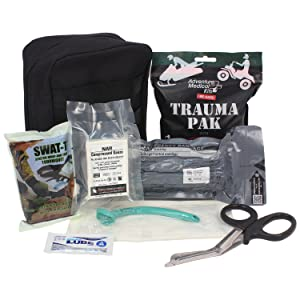 Details about  /2  H/&H Combat Eye Shield with Gauze Pad Sterile IFAK EMT EMS Kit Burns First Aid