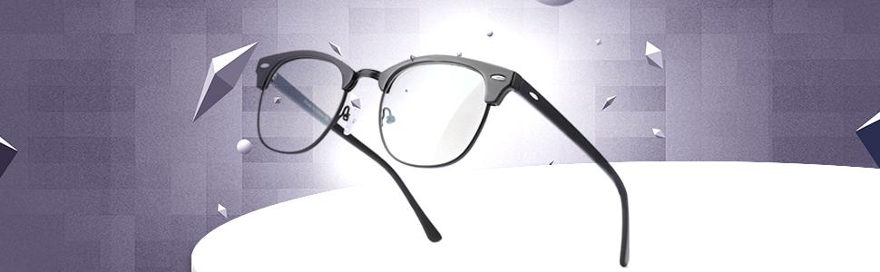 Lightweight Computer Blue Light Blocking Glasses