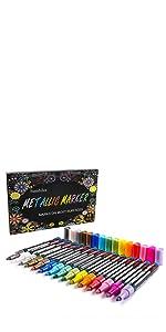 15 Colors Metallic Paint Pens