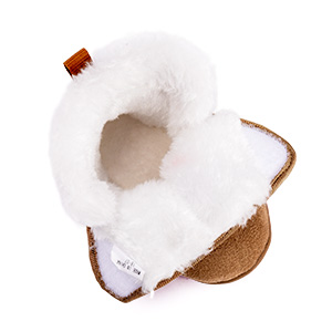 Toddler Girls Boys Snow Boots Warm Winter Fur Lined Baby Shoes