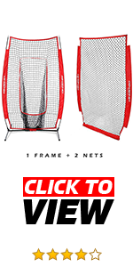 PowerNet Infielder and I-screen Bundle is a 2 for 1 bundle. 2 nets included with one frame.