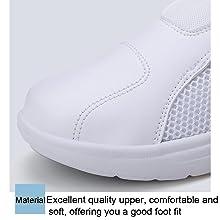 Leader Show Womens Comfortable Work Shoe Lightweight Loafers Ladies Walking Sneakers Nursing Shoes