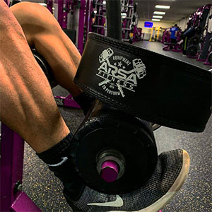 Arsa Fitness Weight Lifting Belt for workouts