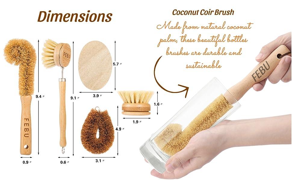 veggie brush reusable sponges natural sponges kitchen natural loofah sponge