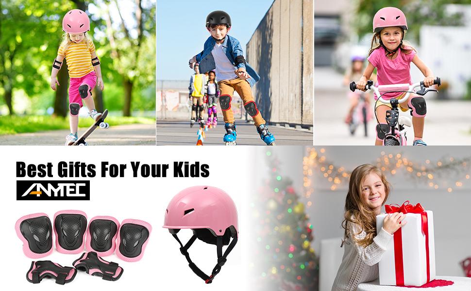 kids' helmet pads set