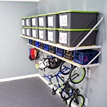 garage storage, garage shelving, garage shelves, made in America, rhino shelf, home organization
