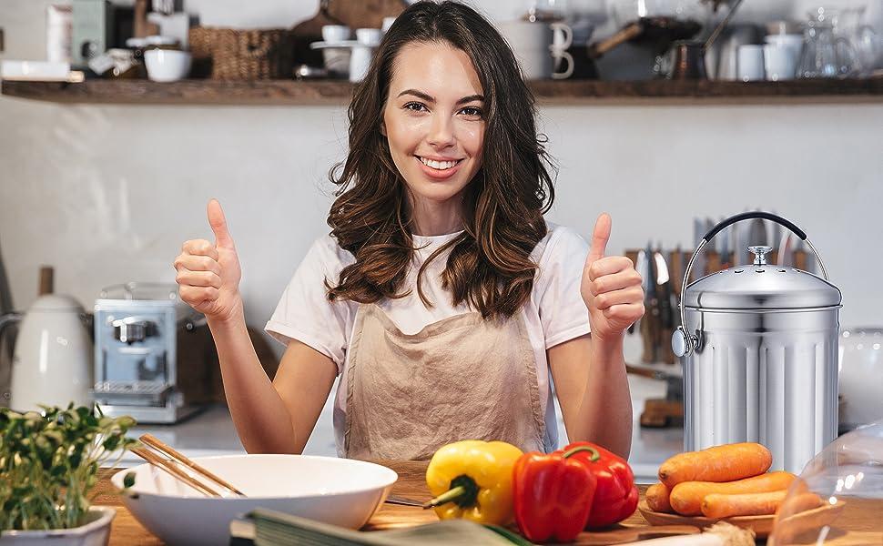 Value for Money Kitchen Compost Bin
