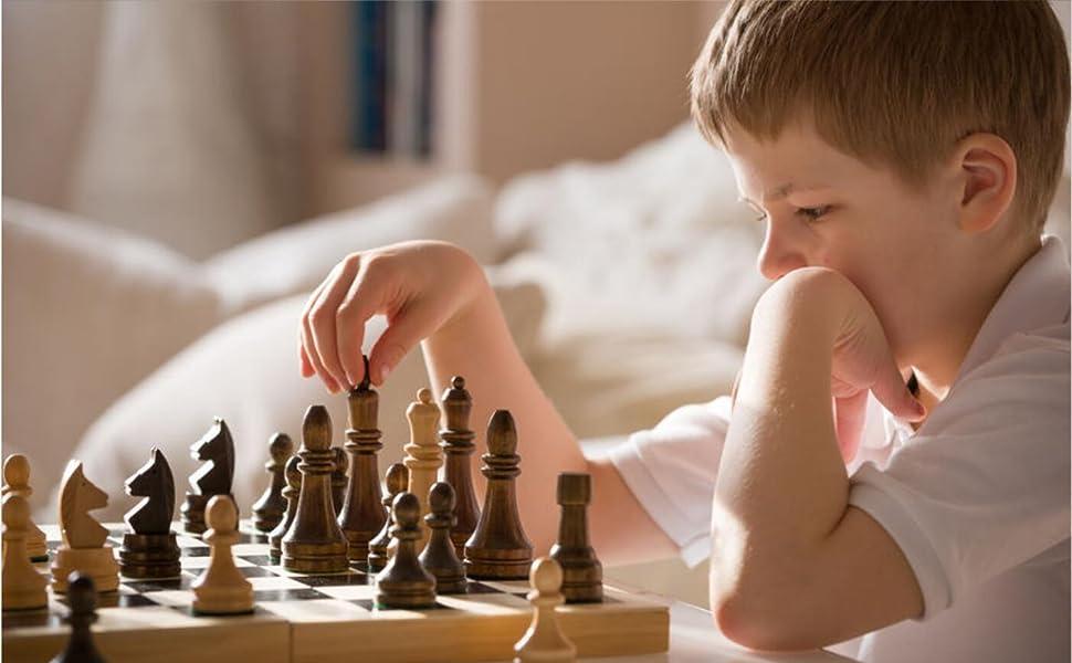Kit d'échecs internationaux pour les parties familiales