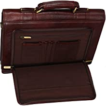 richsign leather accessorises laptop shoulder bags for men office