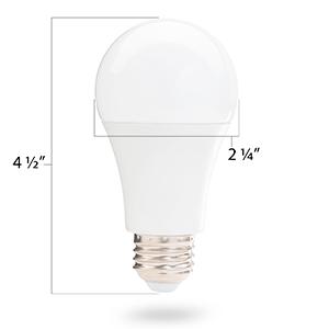 a19 bulb dimensions