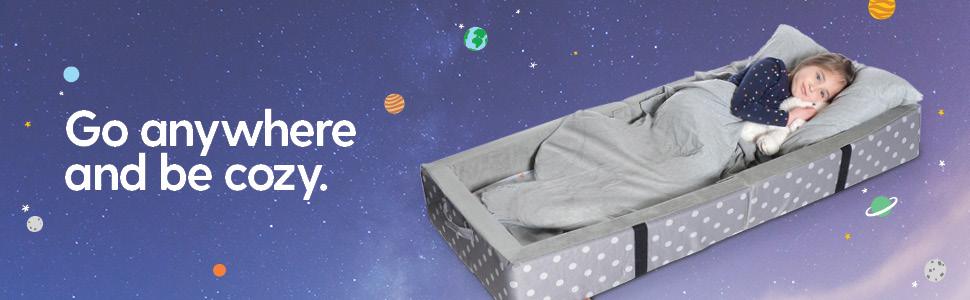 Toddler bed travel