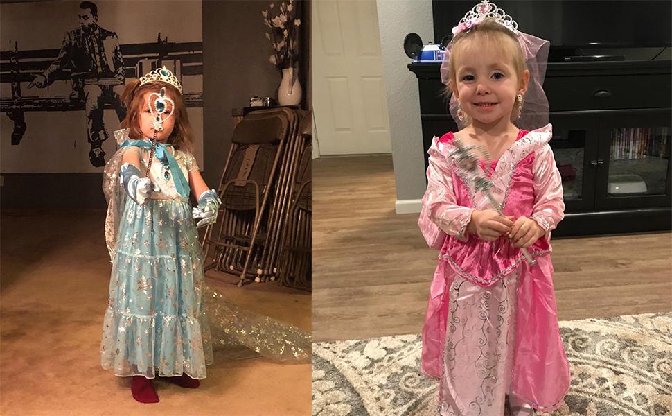 Princess Elsa Dress Up Party Accessories