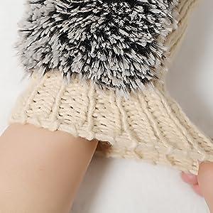 Cartoon Hedgehog Gloves