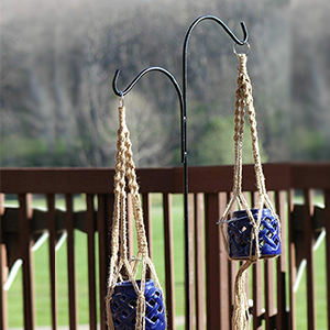 Double Span Black Deck Hook