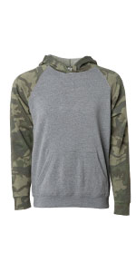 CAMO PULLOVER HOODIE FOR KIDS