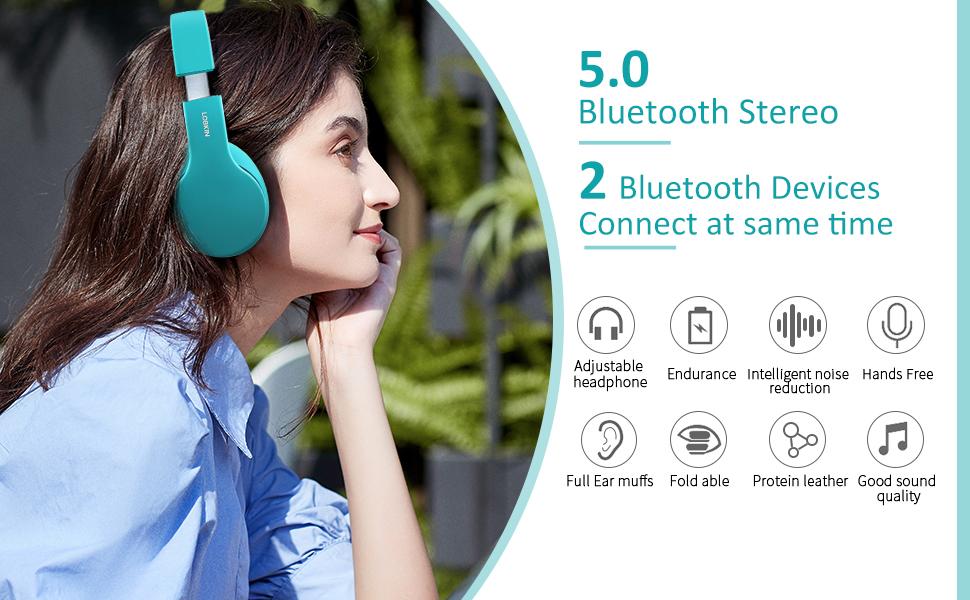 Bluetooth 5.0 stereo wireless speaker