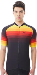 Fahrrad Trikot mit Farbverlauf