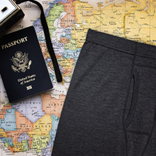 meriwool's can be worn repeatedly before washing making them the perfect travel pants