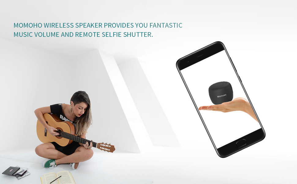 Momoho Portable Bluetooth Speaker BTS0053 Picture 1