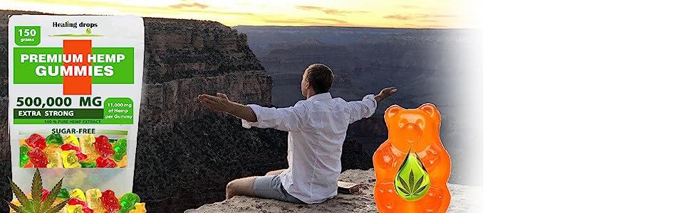 Healing Drops Gummies Potency