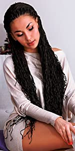 zizi crochet braids curly braiding hair small box braids curly crochet braids curly box braids